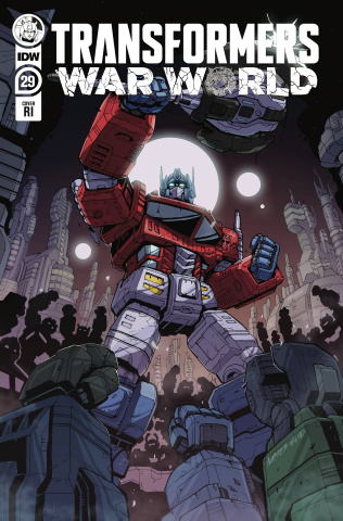 The Transformers #29 (10 Copy Deer Cover)
