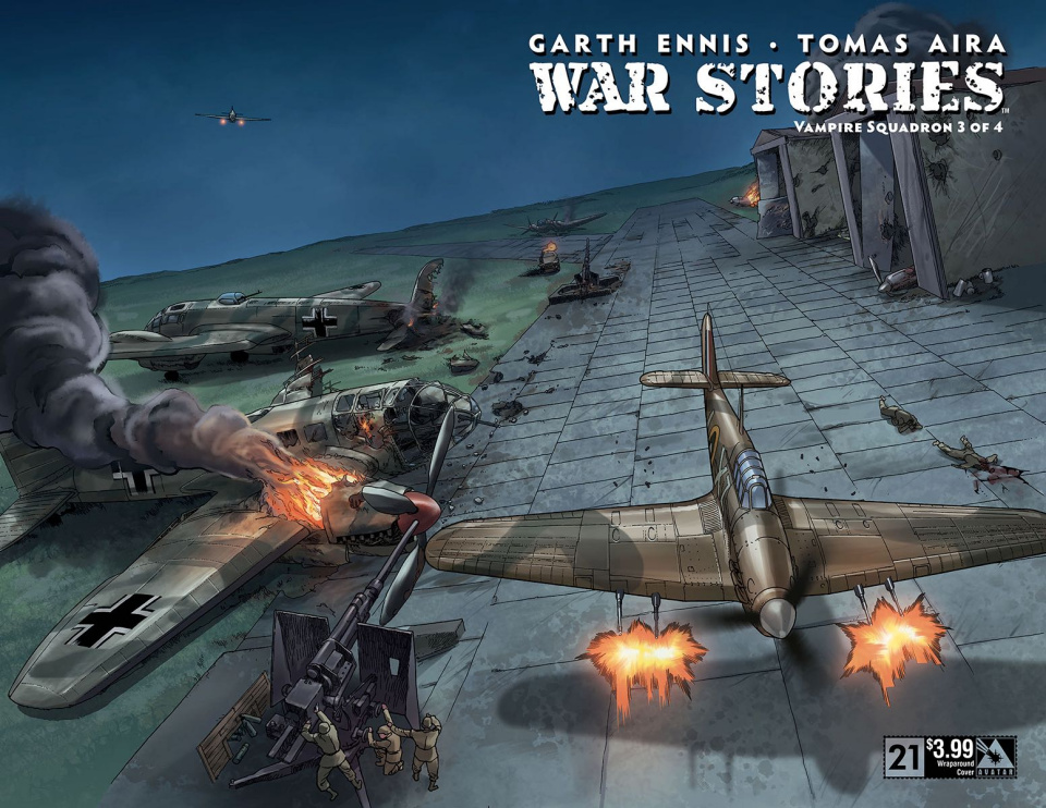 War Stories #21 (Wrap Cover)