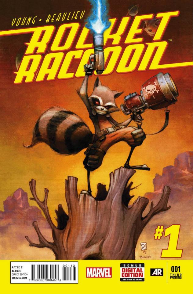 Rocket Raccoon #1 (3rd Printing)