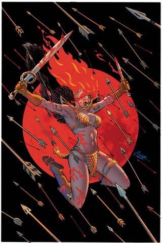 Red Sonja #2 (Conner Virgin Cover)