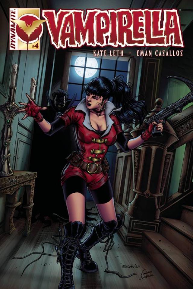 Vampirella #4 (Davila Cover)