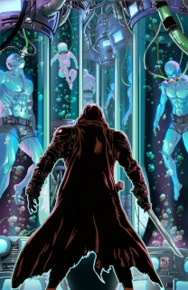 Grimm Fairy Tales: Red Agent #4 (Krome Cover)