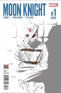 Moon Knight #1 (Smallwood 2nd Printing)