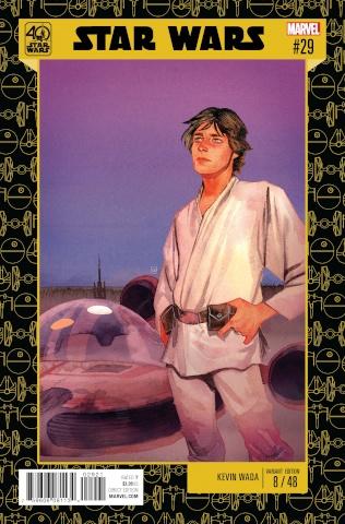 Star Wars #29 (Wada Star Wars 40th Anniversary Cover)