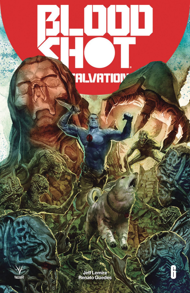 Bloodshot: Salvation #6 (Guedes Cover)