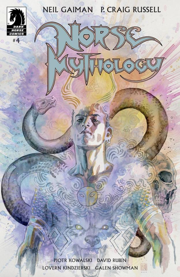 Norse Mythology #4 (Mack Cover)