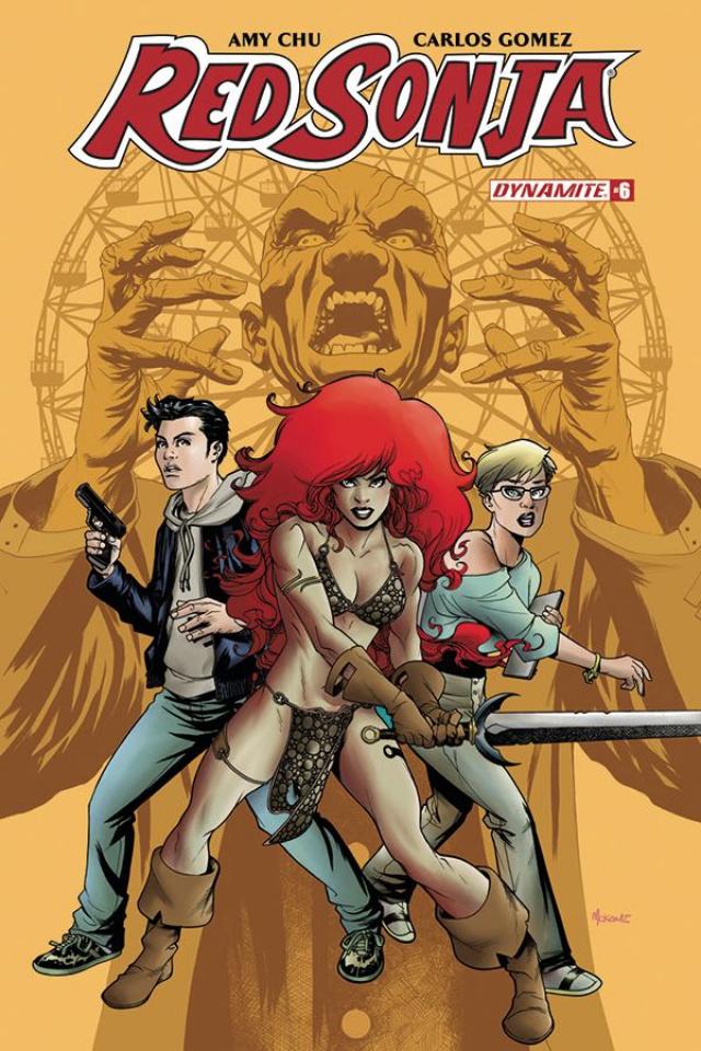 Red Sonja #6 (McKone Cover)