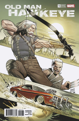 Old Man Hawkeye #1 (Land Cover)