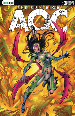 The Superior AOC #3 (5 Copy San Juan Arms Out Cover)