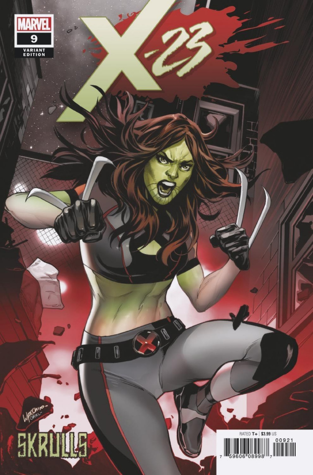X-23 #9 (Lupacchino Skrulls Cover)