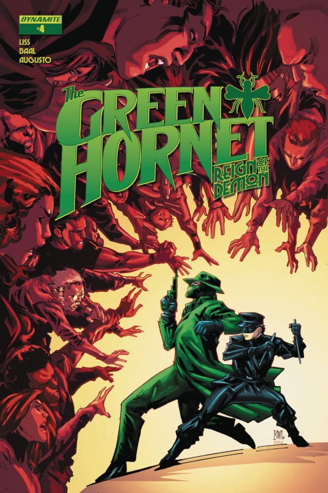 The Green Hornet: Reign of the Demon #4 (Lashley Cover)