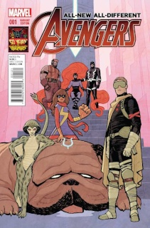 All-New All-Different Avengers #1 (Inhuman 50th Anniversary Cover)