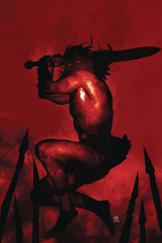 Berserker: Unbound #2 (Sorrentino Cover)