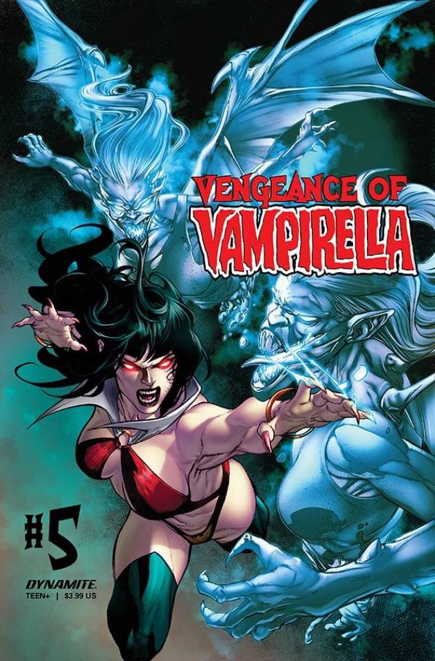 Vengeance of Vampirella #5 (Buzz Cover)