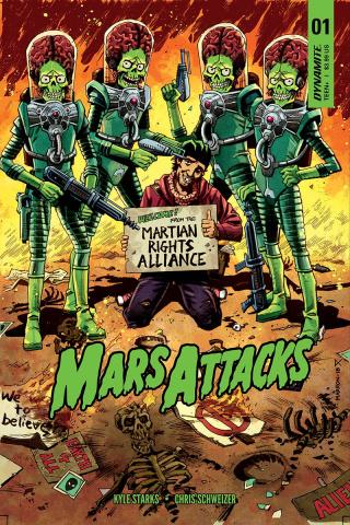 Mars Attacks #1 (Marron Cover)