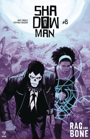 Shadowman #8 (Zonjic Cover)