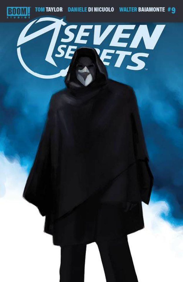 Seven Secrets #9 (10 Copy Mercado Cover)
