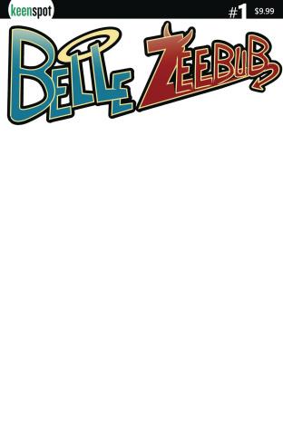 Belle Zeebub #1 (Blank Sketch Cover)