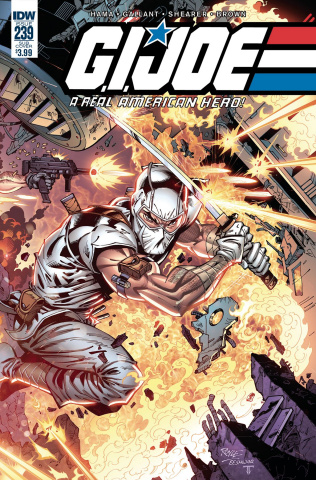 G.I. Joe: A Real American Hero #239 (Subscription Cover)