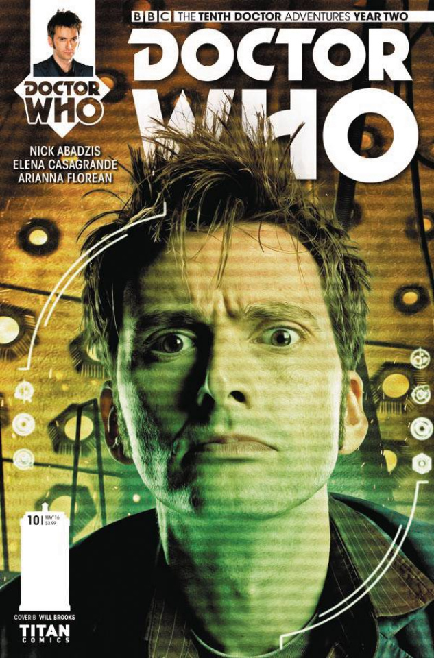Doctor Who: New Adventures with the Tenth Doctor, Year Two #10 (Photo Cover)