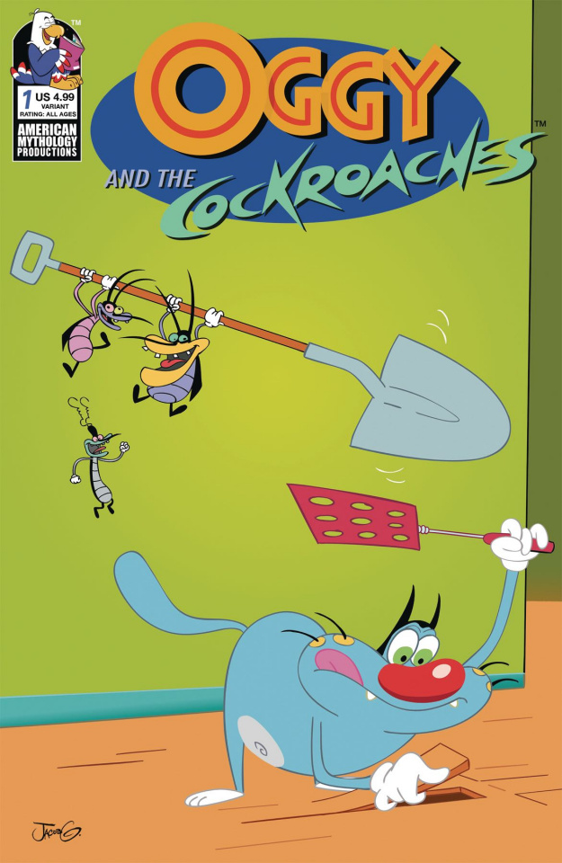Oggy and the Cockroaches #1 (Rankine Cover)