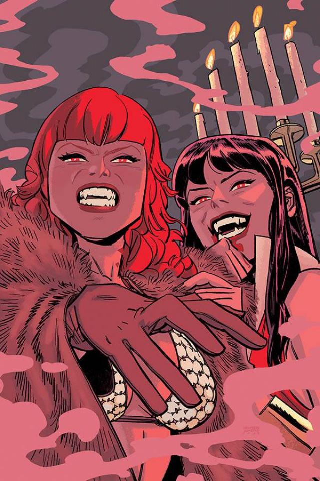 Vampirella / Red Sonja #9 (20 Copy Romero Virgin Cover)