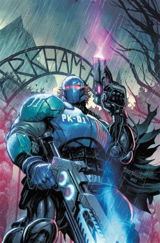 Batman: Secret Files - Peacekeeper-01 #1 (Tyler Kirkham Card Stock Cover)