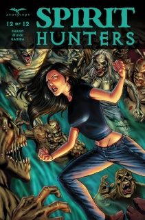 Spirit Hunters #12 (Goh Cover)