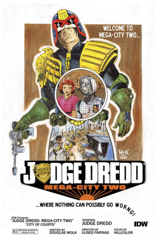 Judge Dredd: Mega-City Two #4 (Subscription Cover)