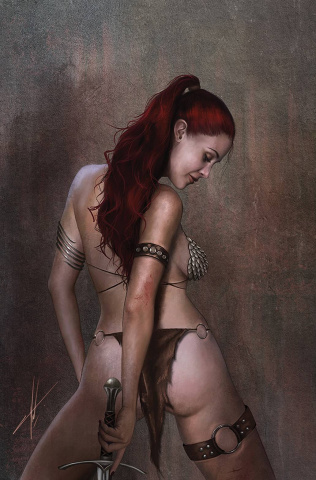 The Invincible Red Sonja #2 (30 Copy Cohen Virgin Cover)