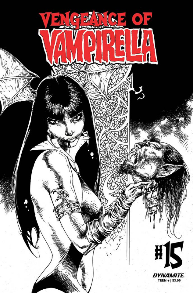 Vengeance of Vampirella #15 (11 Copy Castro B&W Cover)
