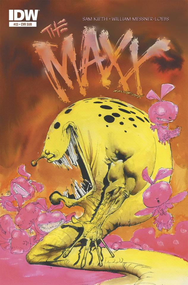 The Maxx: Maxximized #23 (Subscription Cover)