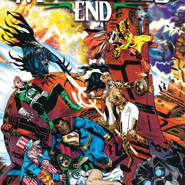 Dark Nights: Death Metal - Multiverse's End #1 (Michael Golden Cover)