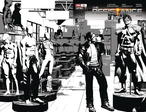 The Resistance #3 (Deodato Jr. Cover)