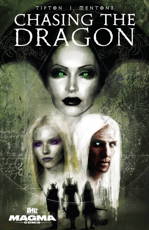 Chasing the Dragon #1 (Menton3 Cover)