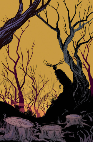 Over the Garden Wall #4 (Subscription Hickman Cover)