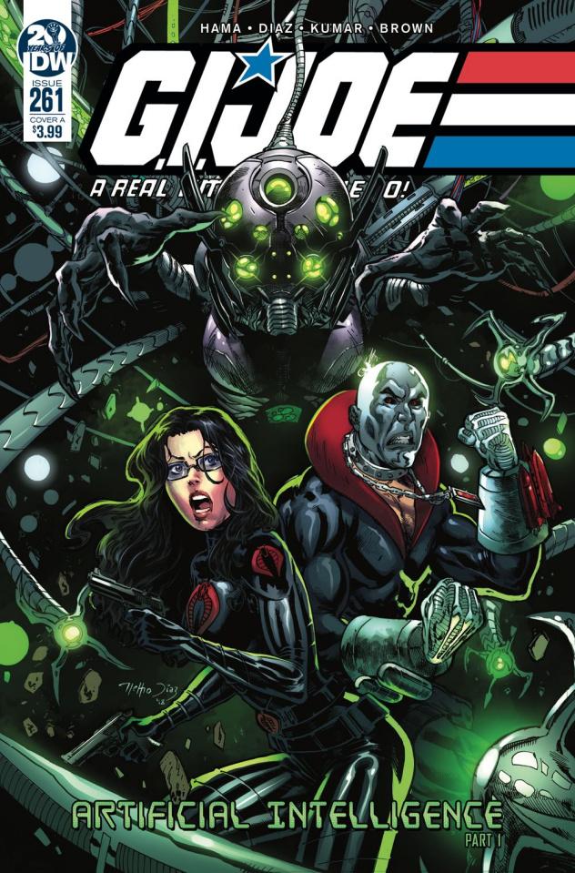 G.I. Joe: A Real American Hero #261 (Diaz Cover)