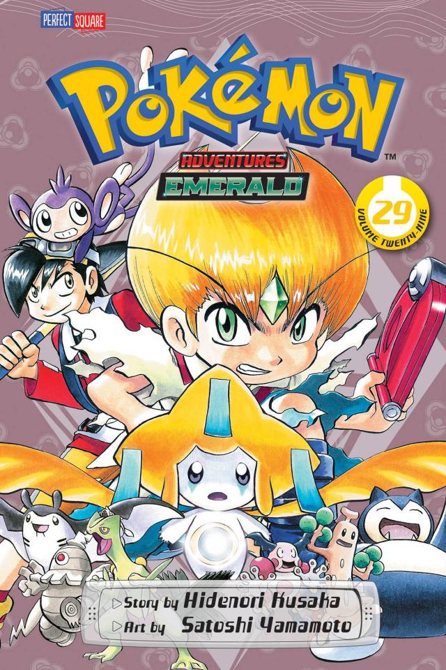 Pokemon Adventures: Emerald Vol. 29