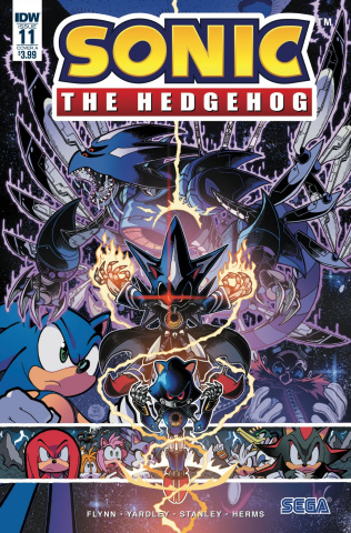 Sonic the Hedgehog #11 (Gray Cover)