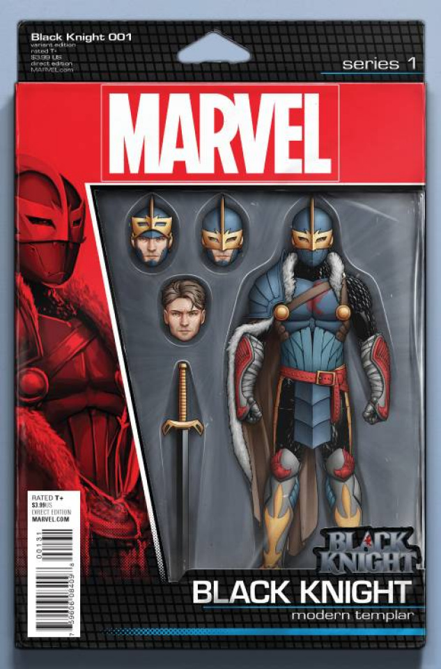 Black Knight #1 (Christopher Action Figure Cover)