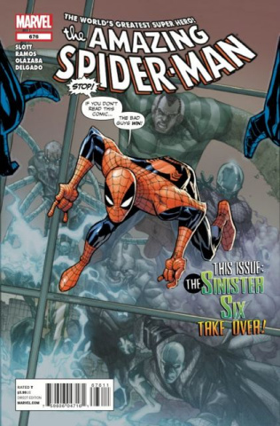 The Amazing Spider-Man #676