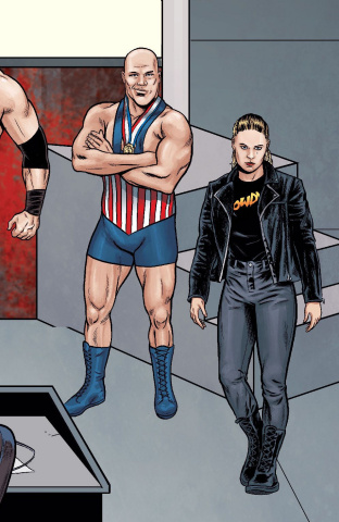 WWE #24 (Schoonover Raw Connecting Cover)
