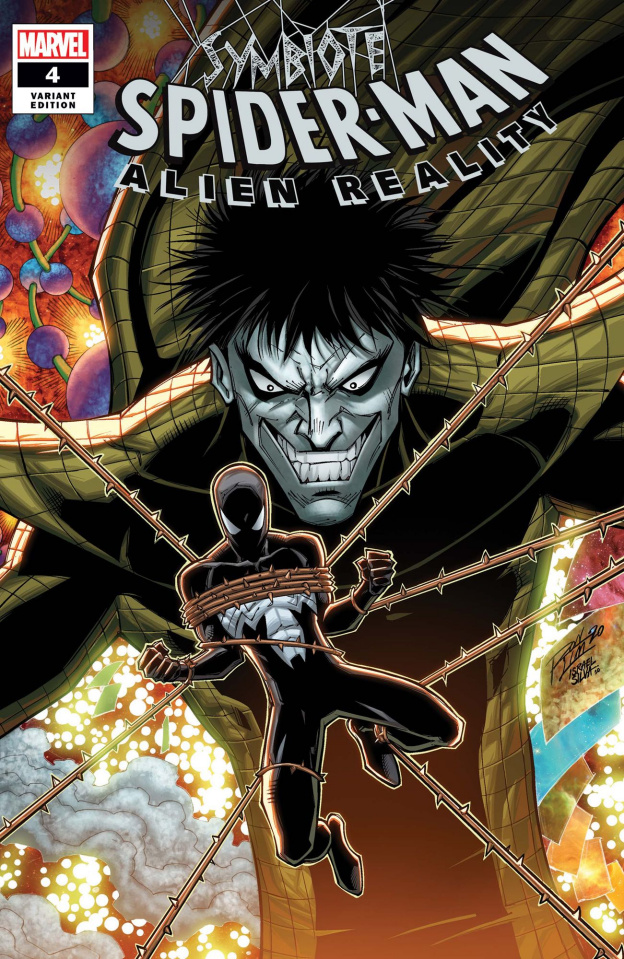 Symbiote Spider-Man: Alien Reality #4 (Ron Lim Cover)