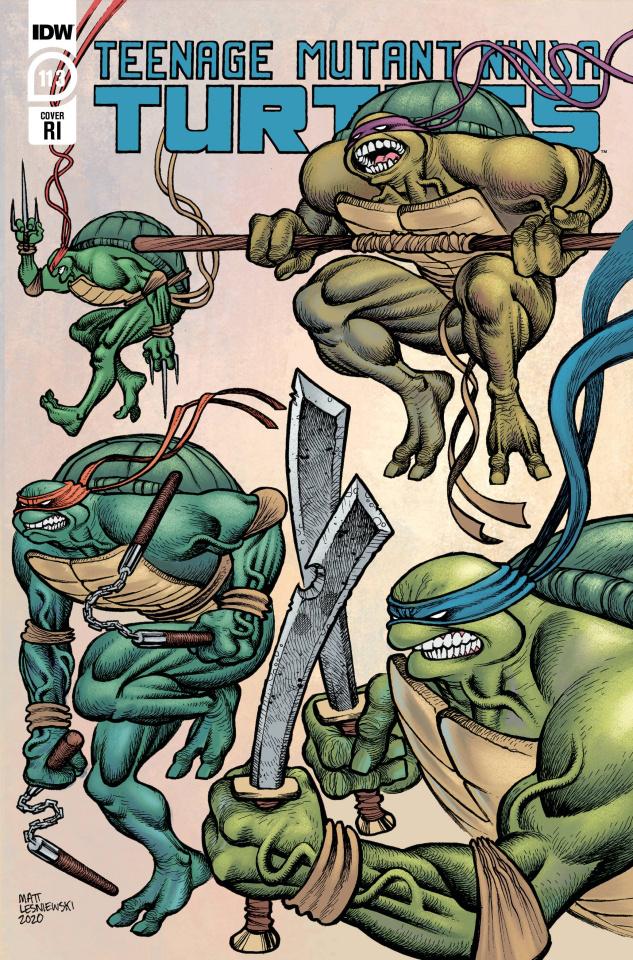 Teenage Mutant Ninja Turtles #113 (10 Copy Lesniewski Cover)