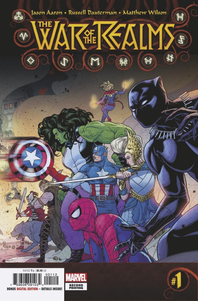 The War of the Realms #1 (Dauterman 2nd Printing)
