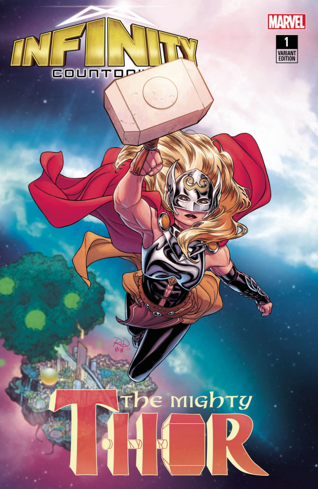 Infinity Countdown #1 (Dauterman Mighty Thor Cover)