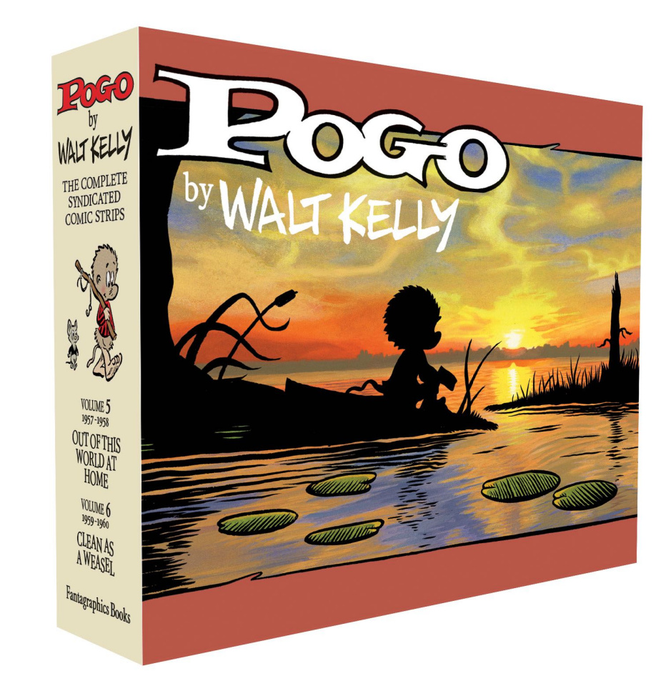 Pogo: The Complete Syndicated Comic Strips Vols. 5 & 6 (Box Set)