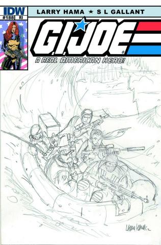 G.I. Joe: A Real American Hero #188 (10 Copy Cover)