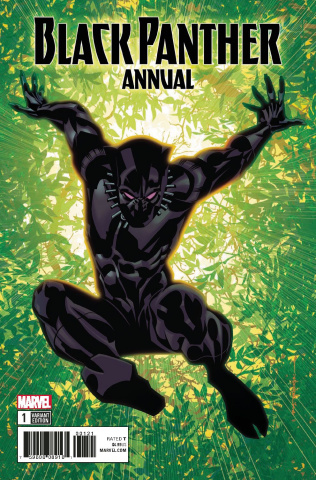 Black Panther Annual #1 (Stelfreeze Cover)