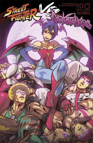 Street Fighter vs. Darkstalkers #0 (Huang Cover)